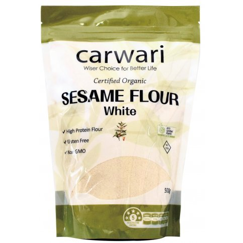 Sesame  Flour (Organic, Gluten Free) - 500g