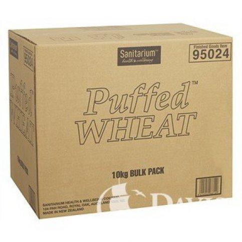 Puffed Wheat Cereal (Sanitarium, Bulk) - 10kg