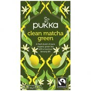 Pukka Teas, Clean Matcha Green Tea (Organic, Fair Trade) - 20 bags