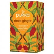 Pukka Teas, Three Ginger (Organic, Fair Trade) - 20 bags