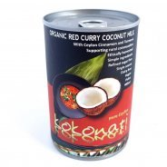 Red Curry Coconut Milk (Organic, Kokonati) - 400ml