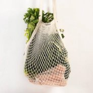 String Bag (Organic Unbleached Cotton, 100% Biodegradable)