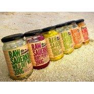 Be Nourished Sauerkraut & Kimchi (Organic, Raw, Choose From 4 Flavours) - 380g