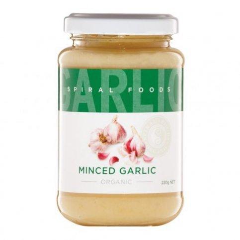 Minced Garlic (Organic) - 220g