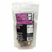 Shiitake Mushrooms (Organic, Dried, Whole) - 50g