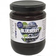Blueberry & Blackcurrant Spread (Organic, Sugar-Free) - 250g