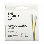 The Humble Co. Cotton Buds - 100% Biodegradable (100 per box)