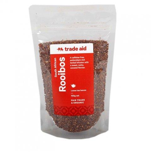 Rooibos Tea (Organic, Fair Trade, Loose Leaf) - 100g