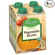 Organic Broth ( 4 Pack, 2 Flavours - Vegetable or Chicken )