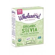 Stevia, blended with Agave Inulin (Organic) - 35g (35 x 1g sachets)