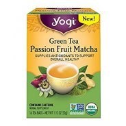 Yogi Green Tea Passionfruit Matcha (Organic) - 16 Bags