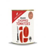 Tomatoes, Chopped (Ceres, Organic) - 12 x 400g can carton
