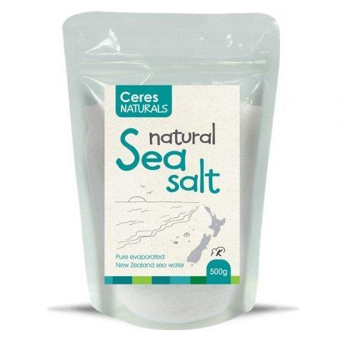 Sea Salt (Ceres, Natural, NZ Sourced) - 500g