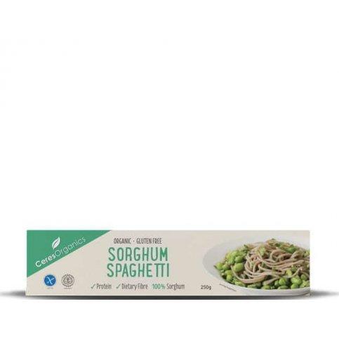Sorghum Pasta, Spaghetti (Ceres, Organic) - 250g