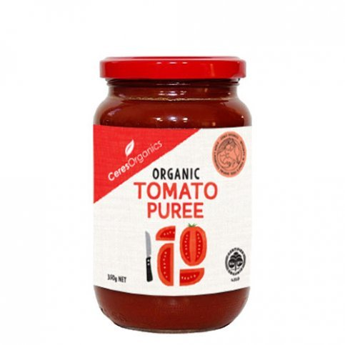 Tomato Puree (Ceres, Italian, Organic) - 350g