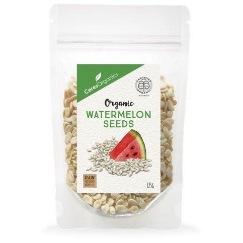 Watermelon Seeds (Ceres, Organic, Hulled, Raw, Dried below 47ºC) - 125g