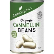 Cannellini Beans (organic, gluten free)  - 400g can