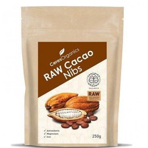 Cacao Nibs, RAW (organic) - 250g
