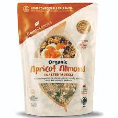 Muesli, Apricot & Almond (organic, Bulk) - 2.5kg