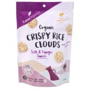 Crispy Rice Clouds, Salt & Vinegar Smash (Organic, Gluten Free) - 50g