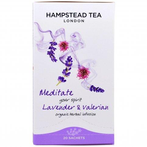 Lavender and Valerian Tea (Organic) - 20 Bags