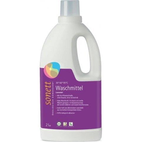 Laundry Liquid, Lavender (Sonett, Bulk, Vegan, Biodegradable) - 2L