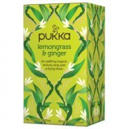 Pukka Teas, Lemongrass & Ginger (Organic, Fair Trade) - 20 bags