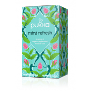Pukka Teas, Mint Refresh Tea (Organic, Fair Trade) - 20 bags