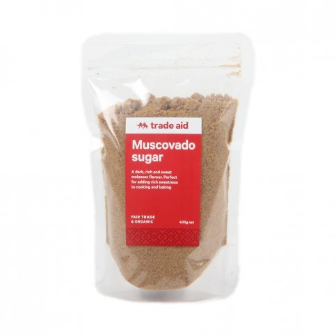 Muscovado Sugar (Organic, Fair Trade) - 400g