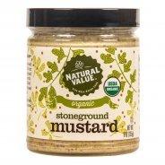 Stoneground Mustard (Natural Value, Organic, Gluten Free) - 255g