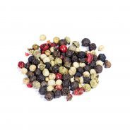 Peppercorn Medley (Black, White, Green & Red Whole Peppercorns) - 100g