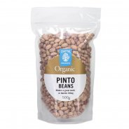 Pinto Beans, Dried (Chantal, Organic) - 500g