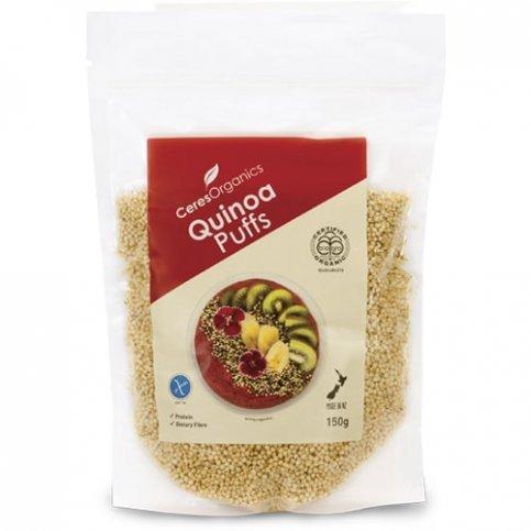 Quinoa Puffs (Ceres, Organic, Gluten Free) - 150g