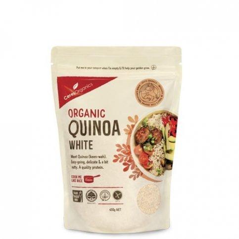 Quinoa White (Ceres, Organic, Gluten Free) - 450g