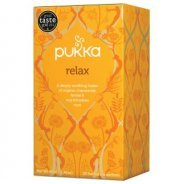 Pukka Teas, Relax with Chamomile, Licorice & Fennel (Organic, Fair Trade) - 20 bags