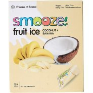 Smooze Fruit Ice - banana & coconut - 10 x 65ml freezer packs