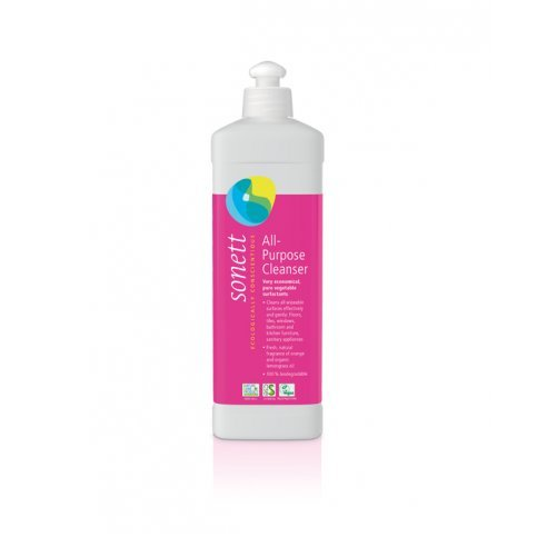 All Purpose Cleaner (Sonett, Concentrate, Biodegradable, Vegan) - 500ml