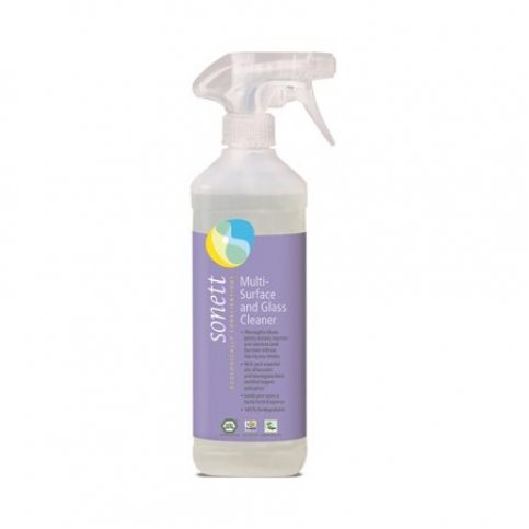Multi Surface & Glass Cleaner (Sonett, Vegan, Biodegradable) - 500ml