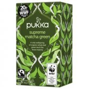 Pukka Teas, Supreme Matcha Green (Organic, Fair Trade) - 20 bags