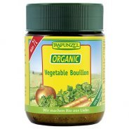 Organic Vegetable Broth (powder, boullion) - 125g