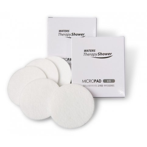 Waters Therapy Shower Rose Micro Filters Pack - 5 Pads