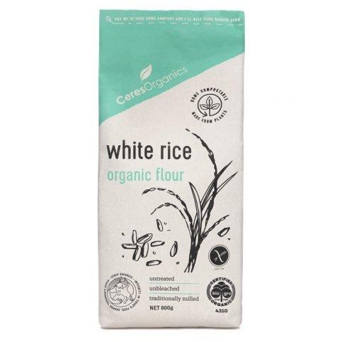 White Rice Flour (Organic, Gluten Free) - 800g