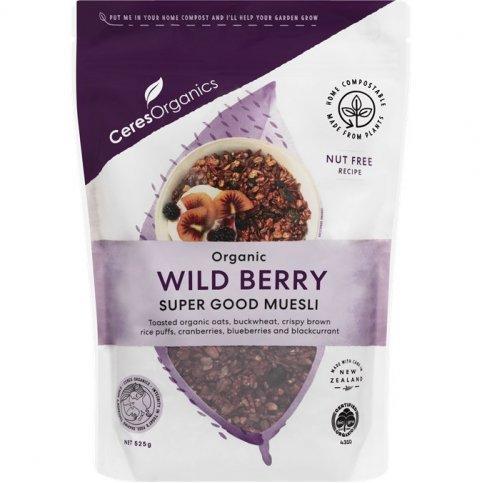 Muesli, Wild Berry (organic, toasted) - 525g